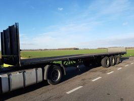 flatbed semi trailer Groenewegen open 1992