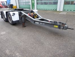 other full trailers Burg BPD 00-18 DOlly SAF, Disc, King pin weighing system, Systeme mesure pres... 2004