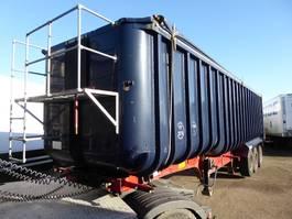 tipper semi trailer Fruehauf Cerals, 60 m3, SAF, Steel Chassis, Alu Box/ Alu Aufbau, Getreide, Cereal... 2002