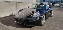 convertible car Porsche 981 Boxster cabrio 2014