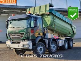 tipper truck > 7.5 t Iveco Trakker 340 Hi-Land AD340T41 8X4 Big-Axle Steelsuspension Euro 6 2016