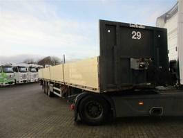 flatbed semi trailer Lecitrailer LECITRAILER 3 aks trailer