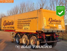 tipper semi trailer ATM OKA 15/27 3 axles 30m3 Alu Kipper Liftachse 2000