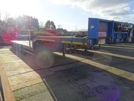 semi lowloader semi trailer Nooteboom 5 ASSIGE DIEPLADER / UITSCHUIFBAAR / STUURASSEN / BELGIUM DOCUMENTS !! 2003