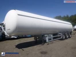 Tankauflieger Auflieger Robin e Gas tank steel 51.5 m3 2007