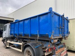 debris container Huffermann KORT HAAKSYSTEEM + CONTAINER - GOEDE STAAT / AMPLIROL PORTE CONTAINER COURTE + CONTAINER 1990