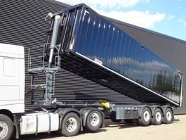 tipper semi trailer Kempf SKM43/3 AK / PULP / COMPOST / TIPPER / 58.5 m3 / LIFT AXLE / NEW! 2020