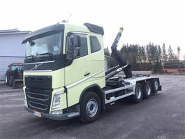 container truck Volvo FH 540 8x4/4 tridem koukkuauto 2018
