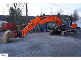 crawler excavator Hitachi ZX250LC-3 newly refurbished w / rotor tilt 2012