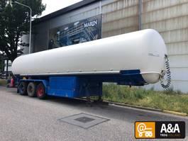 Tankauflieger Auflieger Gofa LPG GPL propane butane gas gaz 50.000 L 1992