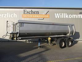 tipper semi trailer Carnehl 2 Achs Stahlmulde 2015
