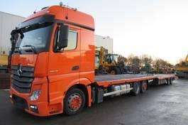 Autotransporter Lastkraftwagen Mercedes-Benz 2545L Actros 6x2 oprijwagen  - Polkon TS-802 Trailer 2014