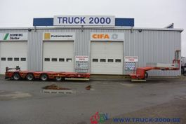 lowloader semi trailer Goldhofer STZ-L 4-34 Länge bis 13m Twist Lock Lift Lenk 2016