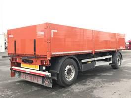 drop side full trailer Kempf 2 Achs Anhänger Baustoffanh. PA 18 Aluboden, zertifiziert Code XL 2015
