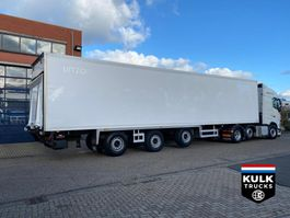 refrigerated semi trailer Pacton CHEREAU R3 002 Tail Lift / NEW TUV-APK. THERMOKING SL200e 2007