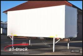 Wechselbrücke Box-Container Krone 3x  WB Koffer 2800mm Innenhöhe, Klapptisch 2013