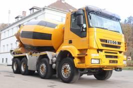 other trucks Iveco Trakker 340T45  8x4 Liebherr 10m3 Funk 2012