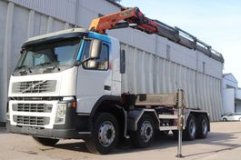 swap body truck Volvo FM12.420  Kran PK23002 8x4 Retarder Leasing 2004
