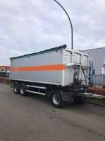 tipper trailer Bulthuis 3x kipper 3 asser Aluminium 40m3 2009