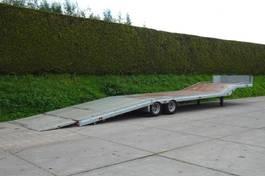 semi lowloader semi trailer Veldhuizen 8,5-tons Semi-dieplader oplegger 2018