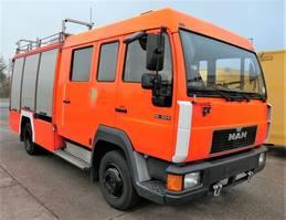 other trucks MAN L2000 10.224 LC LHF 16 4X2 DoKa AHK FEUERWEHR 1996