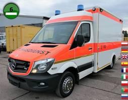 ambulance lcv Mercedes-Benz 516 CDI BLUETEC SPRINTER 7G-TRONIC KLIMA RTW Kra 2014