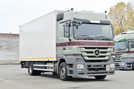 closed box truck > 7.5 t Mercedes-Benz Actros 1844 Euro 5 Retarder AHK LBW 2010