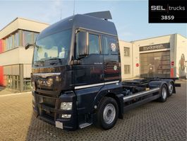 swap body truck MAN TGX 26.480 6x2-2 LL / ZF Intarder / German