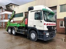 swap body truck Mercedes-Benz 2544 6x2 Meiller AK 16 MT Teleskop Absetzkipper 2007