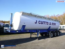 tank semi trailer semi trailer Feldbinder Powder tank alu 42 m3 (tipping) 2020