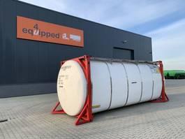 Tankcontainer Van Hool 3 Baffels, 20FT, swapbody TC 30.000L, L4BN, UN Portable, T11 2008