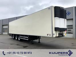 refrigerated semi trailer Van Eck 3-Assige koeler / Multi-temp / Stuur-as / Laadlift 2010