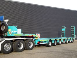 lowloader semi trailer Doll S7E-S7 / 7 ACHS / 109.000 KG / PANTHER / RAMPEN / EXTENDABLE 2011