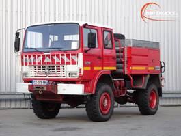 fire truck Renault 110 170 4x4 feuerwehr - fire brigade - brandweer - water tank - Camper -... 1991