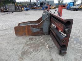 hay bale grabber attachment Auramo P1000LE 1990