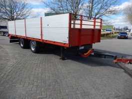 drop side full trailer Vogelzang VA-20-OPN 2 As Wipkar Open - Dieplader Aanhangwagen Open, WZ-RL-34 2008