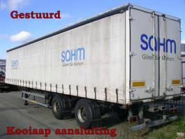 sliding curtain semi trailer Ackermann Fruehauf 2 As Oplegger Schuifzeil, OK-81-ZS 1992