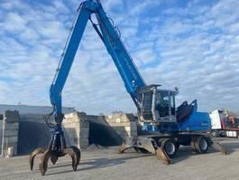 wheeled excavator Fuchs MHL340 2015