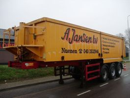 tipper semi trailer ATM ALU TIPPER 30 m3  CHASS. STEEL   BPW+LIFT+HOLLAND 1997