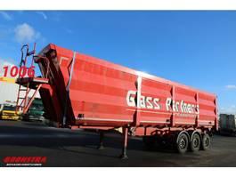 tipper semi trailer Stas S300CX-10CANN Kipper 52m3 2019