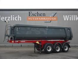 tipper semi trailer Carnehl CHKS 27m³ Stahlmulde, Alcoa, Luft/Lift 2016