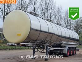 tank semi trailer semi trailer Burg BPO-12 27 Z 55.500 Ltr / 4 / Chemie 1994