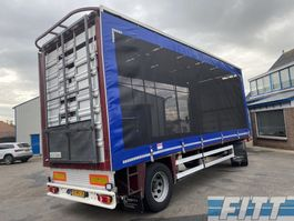 sliding curtain trailer CUPPERS 2004 2ass aanhanger icm 2012 FH 460 6X2  pluimvee combi 2004