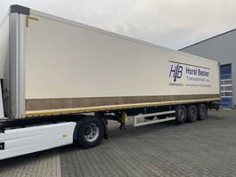 closed box semi trailer Wielton NS-3-F Kasten, Drybox, Trockenfracht 2011