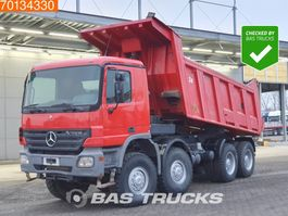 tipper truck > 7.5 t Mercedes-Benz Actros 4141 4141AK 8X8 Manual Big-Axle Steelsuspension Euro 3 2005