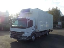 refrigerated closed box lcv Mercedes-Benz Atego 818 L BlueTec5 Kühlkoffer 816,818 2011