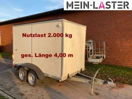 Koffer PKW-Anhänger Humbaur HT 20 Koffer 100 km/h 2.000 kg NL