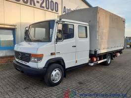 tilt truck Mercedes-Benz Vario 816 DoKa 7 Sitze MBB LBW 1 to Standheizung 2011