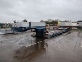 lowloader semi trailer Goldhofer Nedbygget 2013