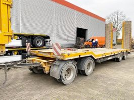 lowloader semi trailer Schwarzmüller 4-Achs Tiefladeanhänger 4-Achs Tiefladeanhänger, hydr. Rampen, Baggerlöf 2013
